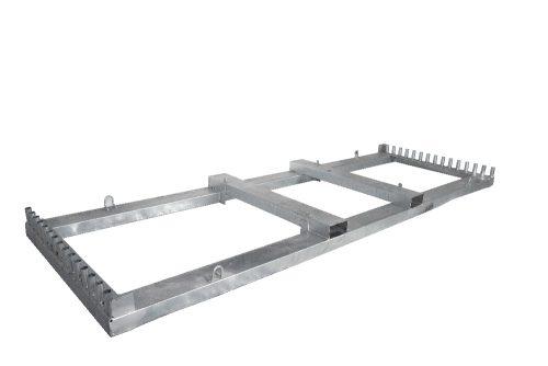Bauzaunbox TP30 350 cm